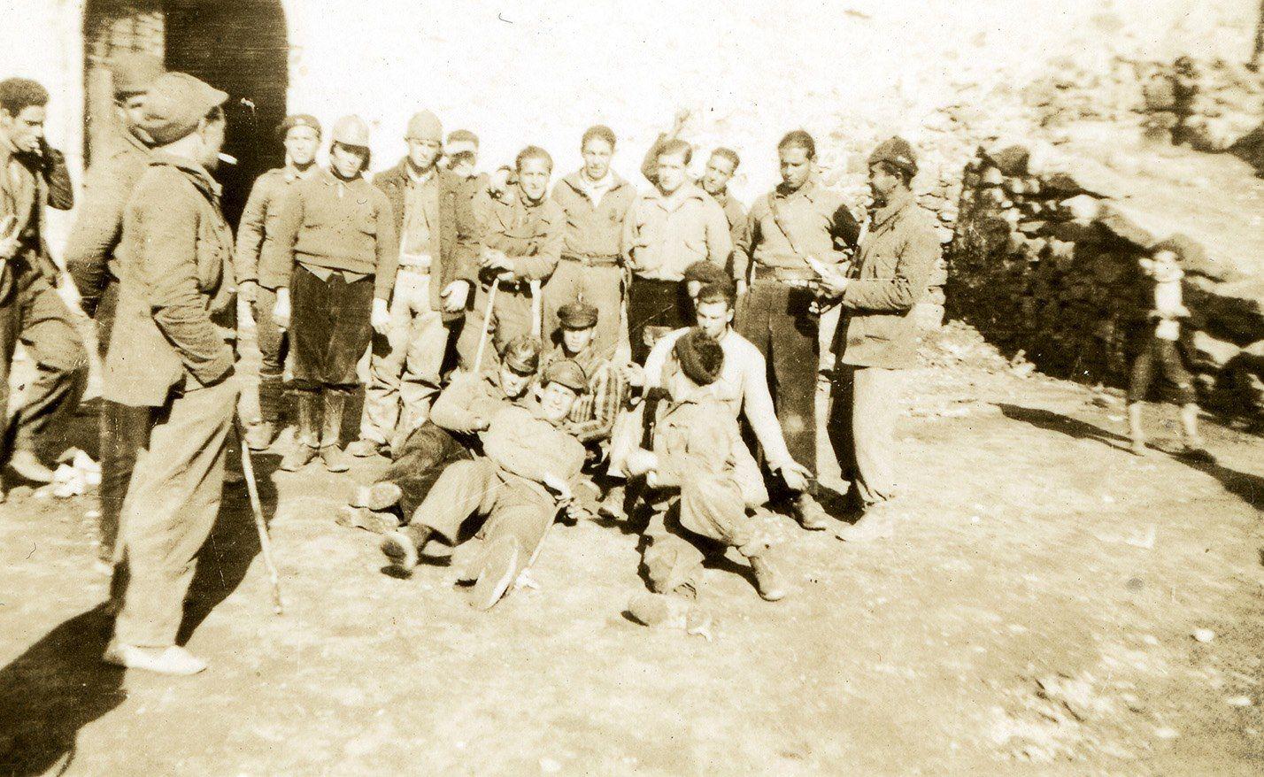 Soldados republicanos alicantinos en buitrago