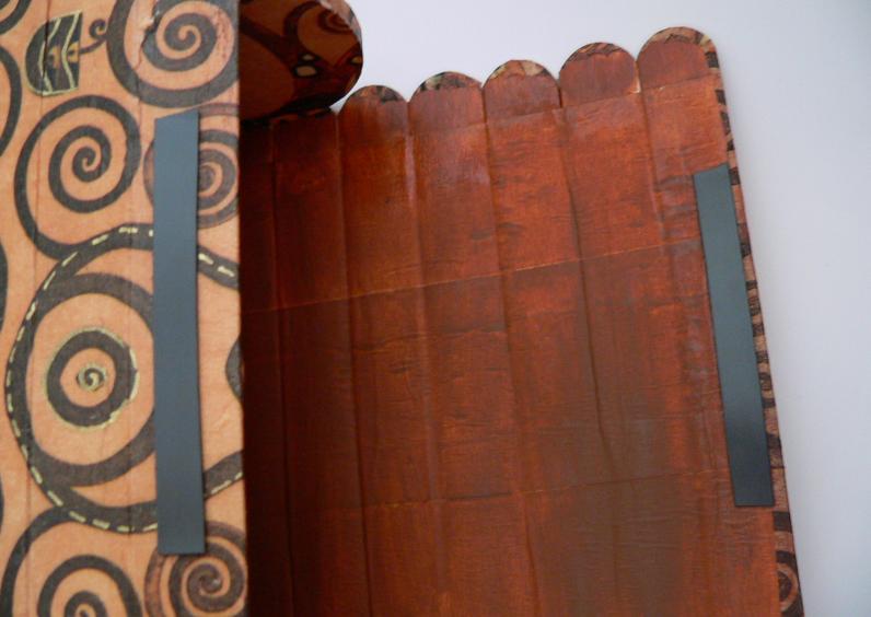 ZONA DE MANUALIDADES: Cofre de Palitos de Helado