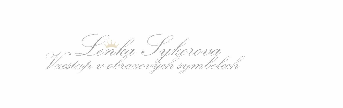Lenka Sykorova  - Vzestup v obrazových symbolech