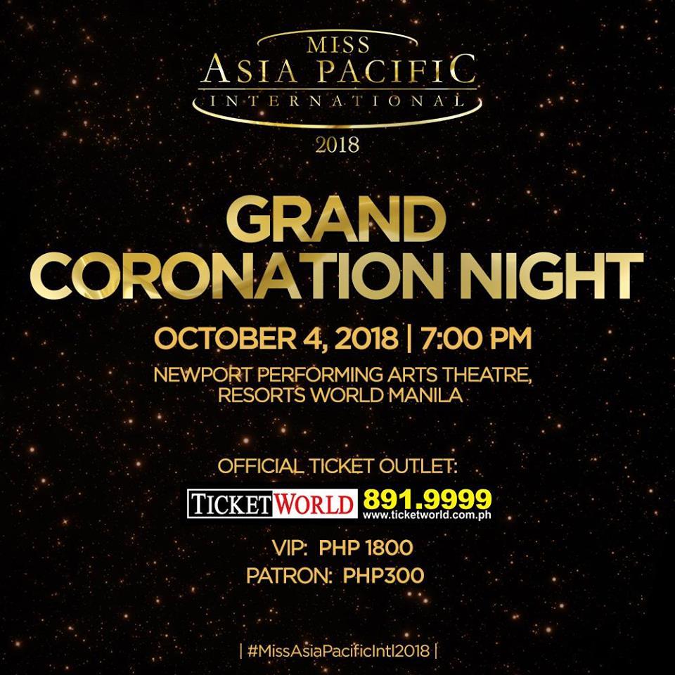 Miss Ásia Pacífico Internacional 2018