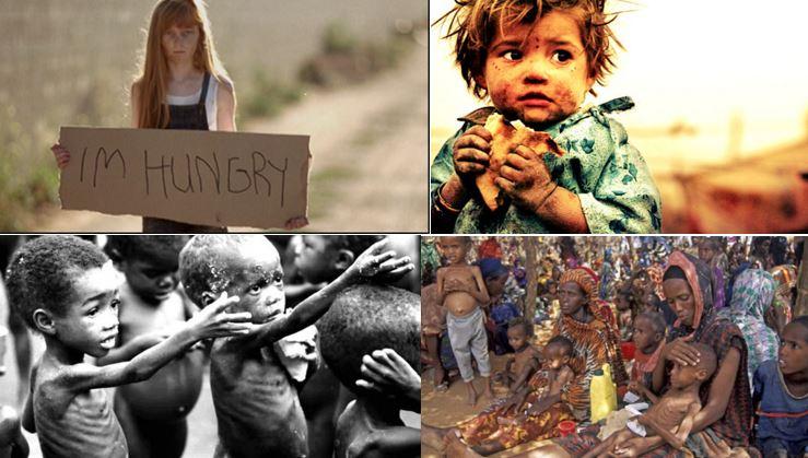 Décès quotidiens par sous-alimention dans le monde: 25,000 personnes