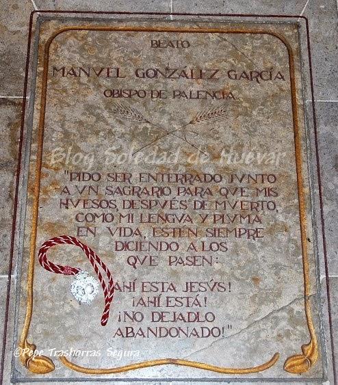 Tumba del Beato Manuel González.
