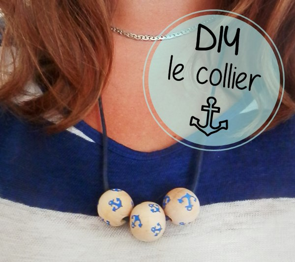 DIY : Collier marin / ancre