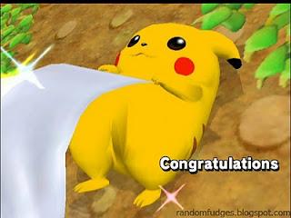 pikachu melee allstar congratulations