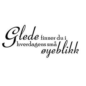 ord om glede Kongsberg