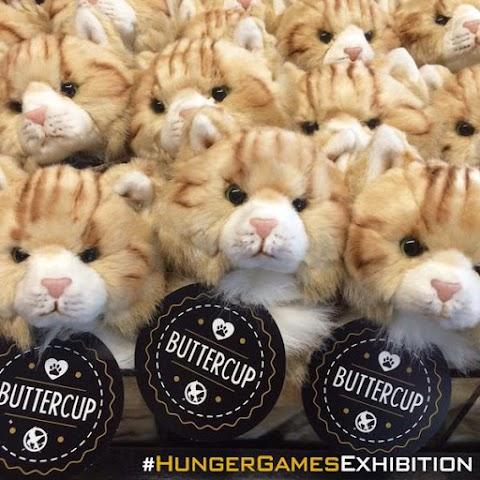 The Hunger Games Exhibition: Buttercup ya tiene su peluche oficial