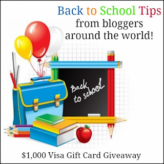 Enter to win $1,000 in the Back to School Blast Giveaway. Ends 8/15.