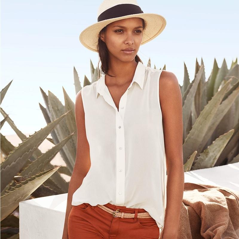 H&M Summer 2015 Style Update featuring Lais Ribeiro