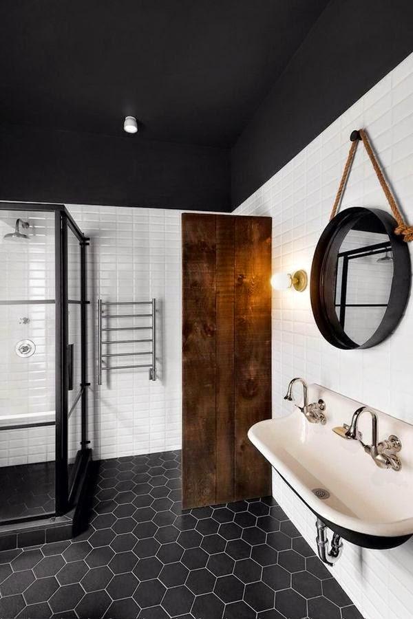 Très Tendance : un miroir rond dans ma salle de bain | Madame décore NU93