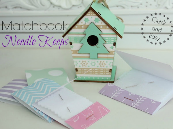Matchbook Needle Keeps- Tutorial