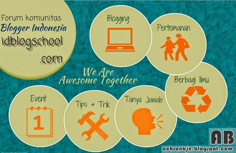 Forum Komunitas Blogger Indonesia Idblogschool