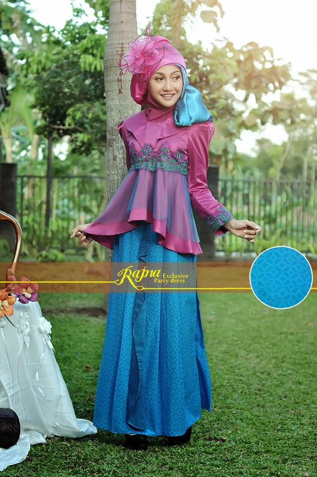 20 contoh model baju pesta muslim modern remaja terbaik Contoh baju gamis anak