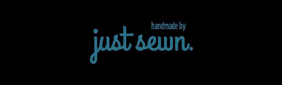 just sewn.