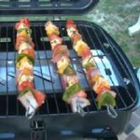 frigarui cu legume si sos vinegreta