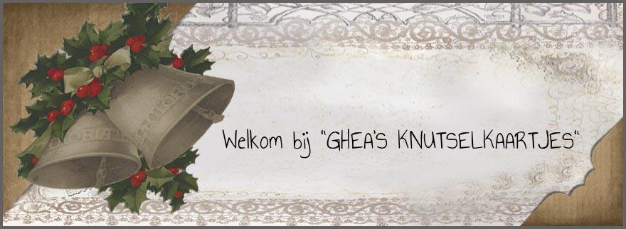 Ghea's Knutselkaartjes