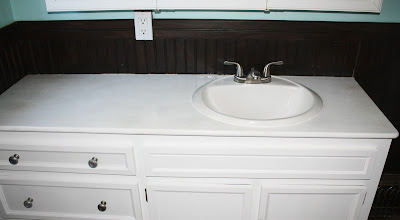 after1 Make your own countertop!