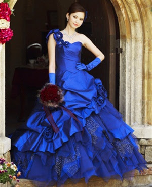 Navy Blue Wedding Dresses Dark Blue and Navy Blue Wedding Dress Designs - Wedding Dress