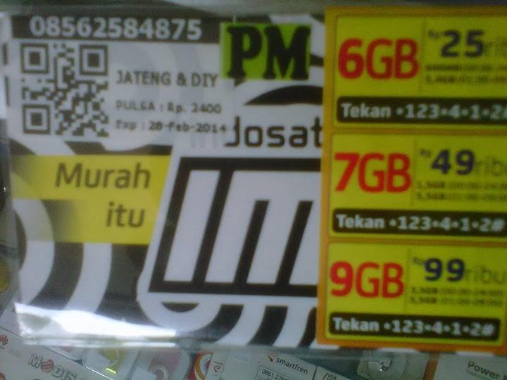 Cara Cek Paket Kuota Indosat 6GB 7gb 9gb