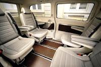 foto interior de taxi minivan barata en Badajoz
