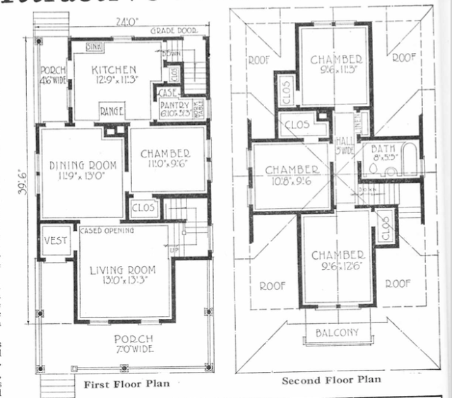 gordon van tine 158 floor plan