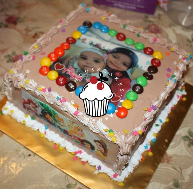 Ice Cream Cake Edible Image : Ice Cream Cake + Edible Image InHouseCakes