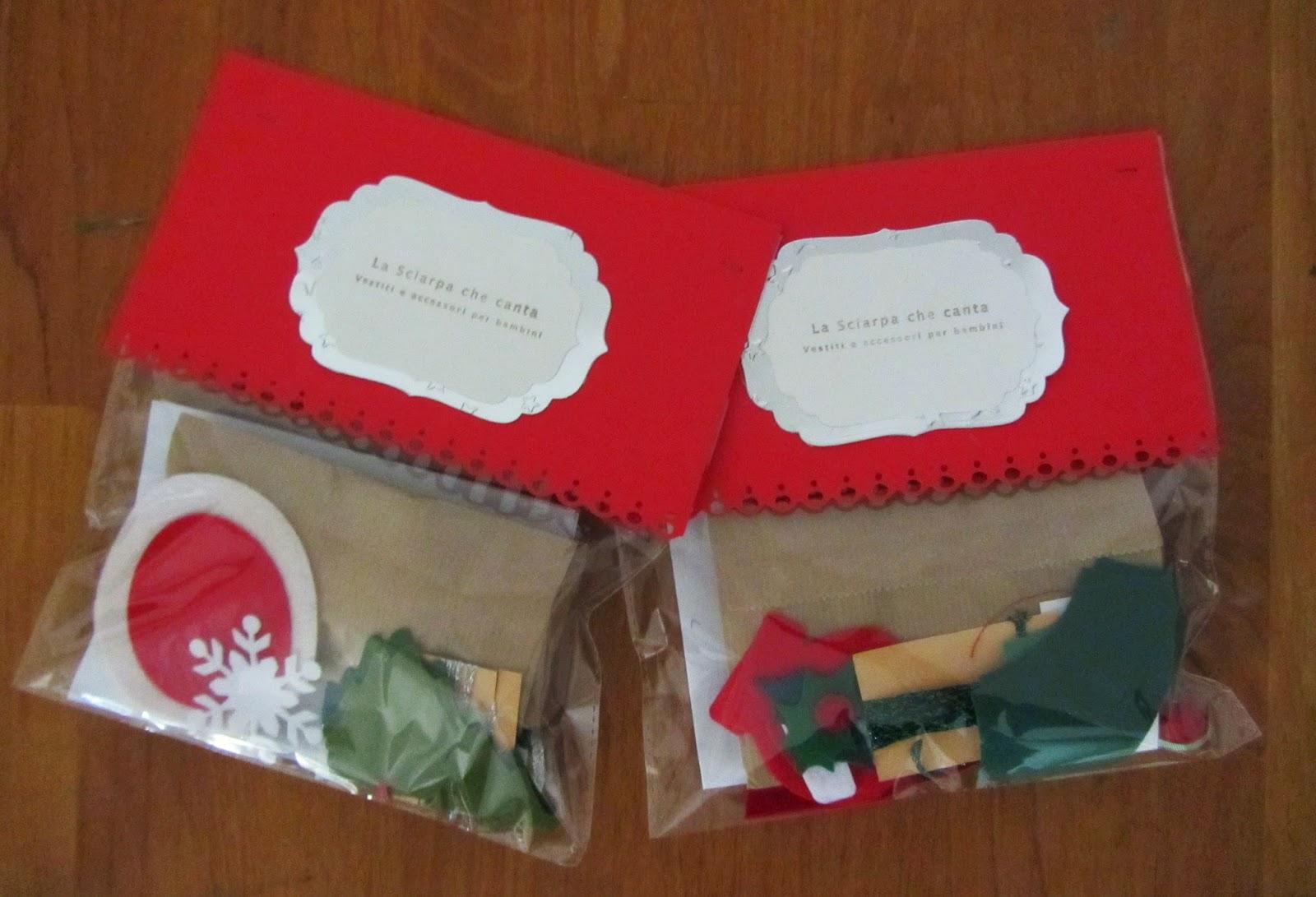 La sciarpa che canta idee regalo kit decorazioni di natale - Piccole idee regalo per natale ...