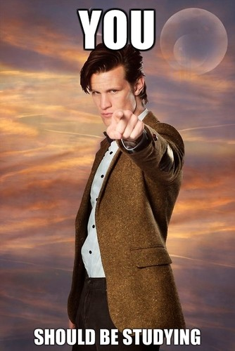Matt Smith - You Should Be Studying