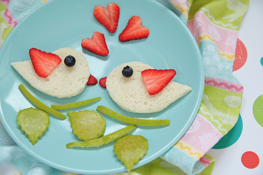 Or Create Simple Lovebirds For Their Lunch!