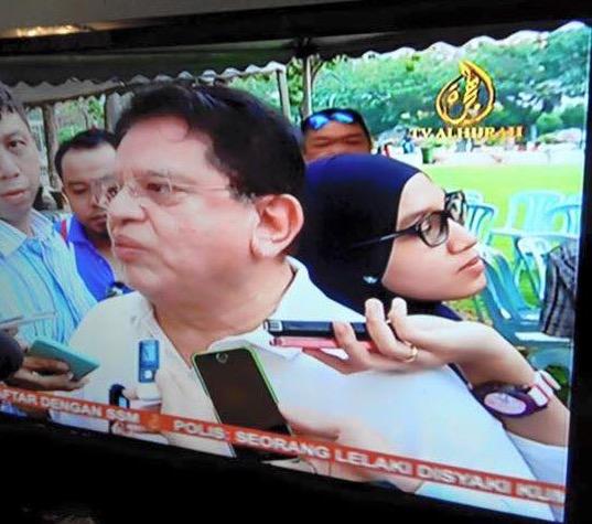 Pendedahan Situasi Sebenar Wartawan Bersandar 'Manja' di Belakang Ku Nan