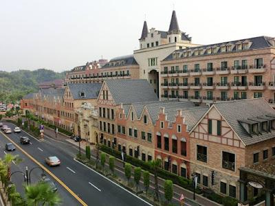 A European Shopping Complex in Kaohsiung, E-da World