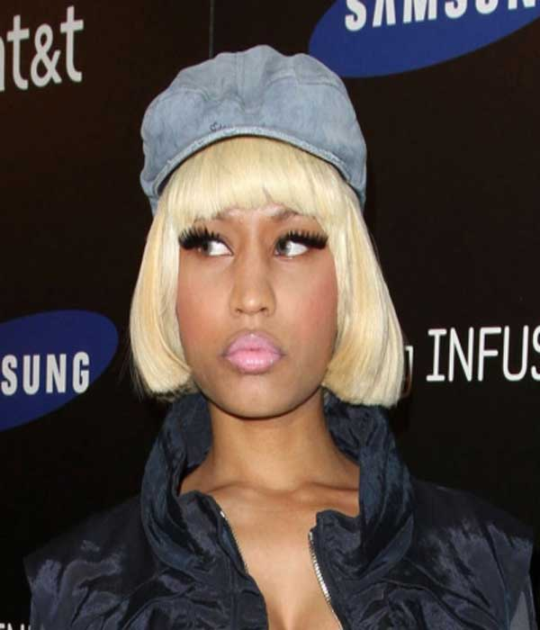 Nicki Minaj Bob Celebrities Style