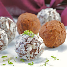 Coconut Key Lime Truffles