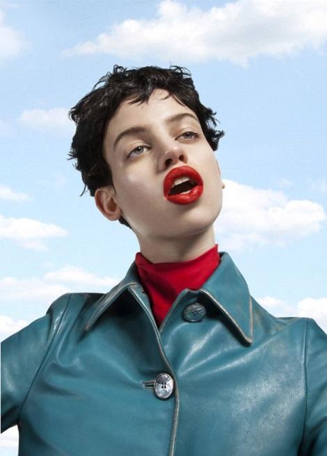 Lily McMenamy by Frederik Heyman