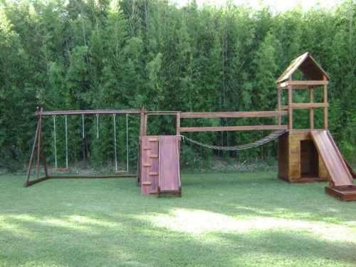 Construcci n juegos infantiles for Juegos de jardin infantiles de madera