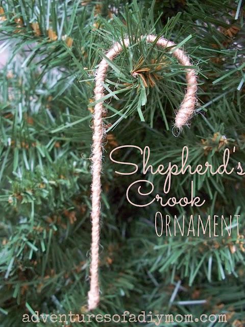 Shepherd's Crook Ornament