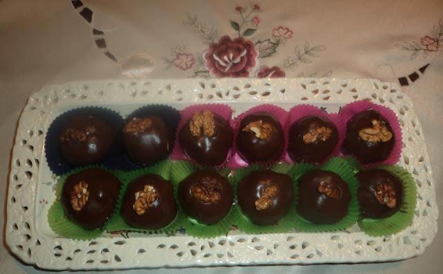 Kuglice od kestena prelivene sa ćokoladom