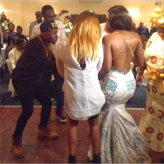 Ghanaian born uk rapper sway gets married to fianc 233 helen photos