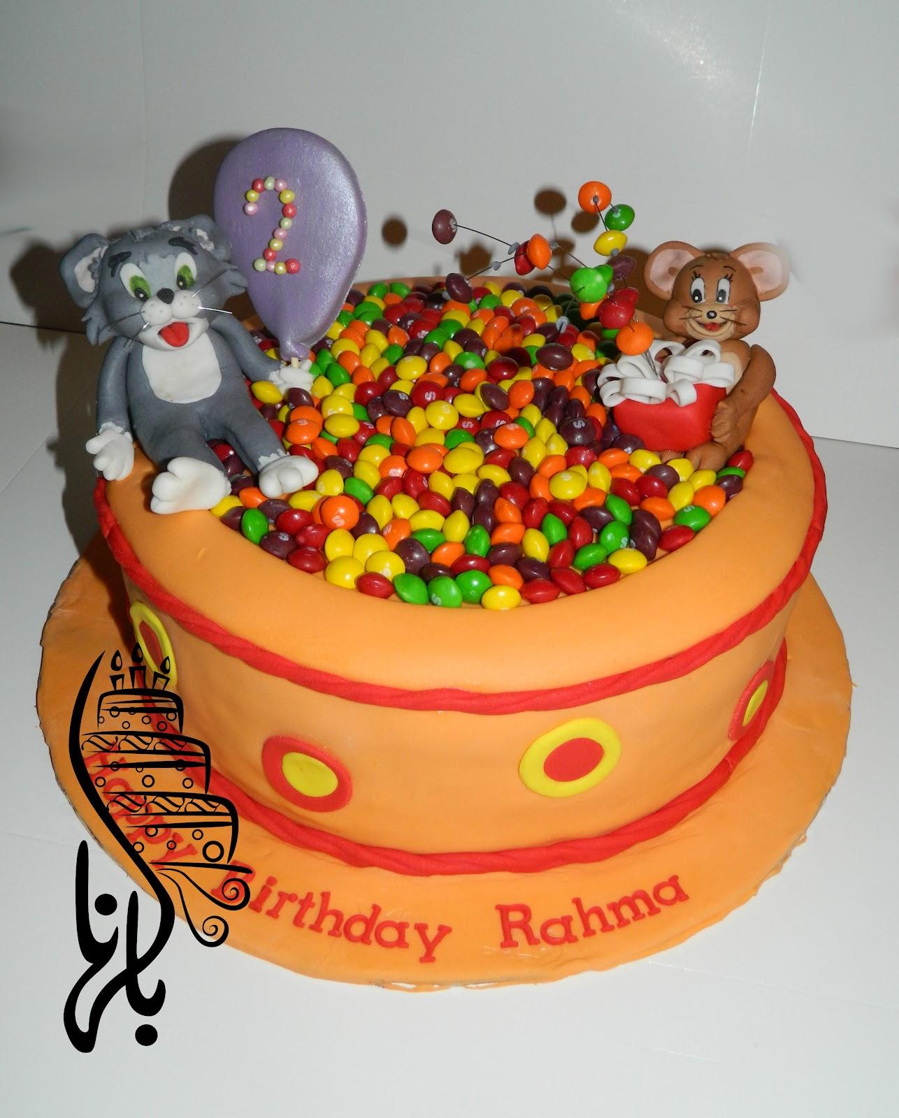 Tom Jerry Cake Bel Hana
