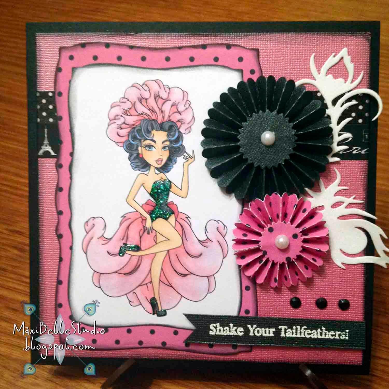 Sassy Studio Designs Sassy Showgirl