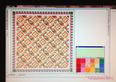 Celtic Solstice Quilt - Electric Quilt software Mystery 2013