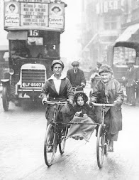 An early 'Boris' bike in London?