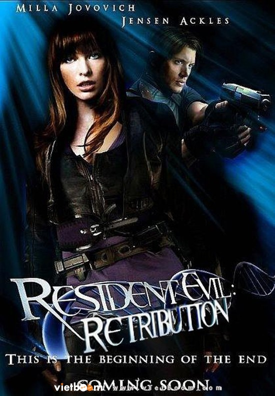resident evil retribution Resident Evil 5 Retribuição