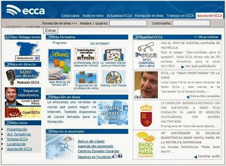 Web ECCA Institucional