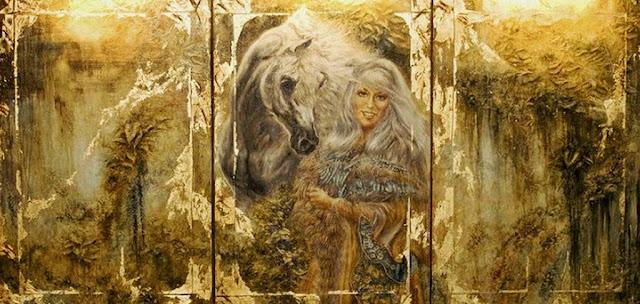 lienzos-oleo-de-caballos-modernos