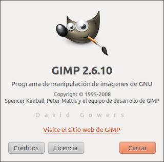 Escalar imagen en Gimp con Ubuntu