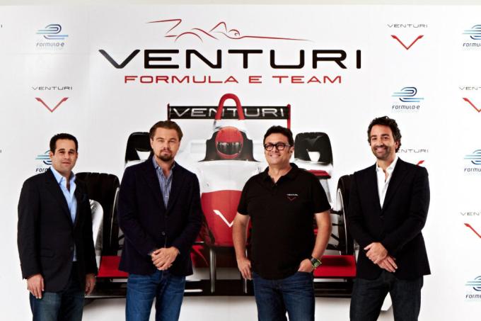 Leonardo DiCaprio und Venturi Automobiles komplettieren Starterfeld der Formel E