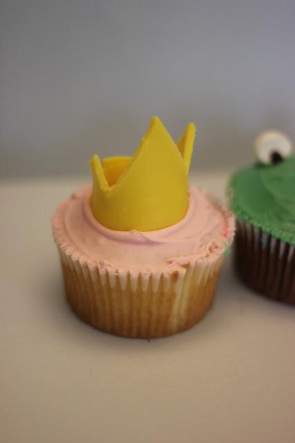 Princess Crown Cupcakes
