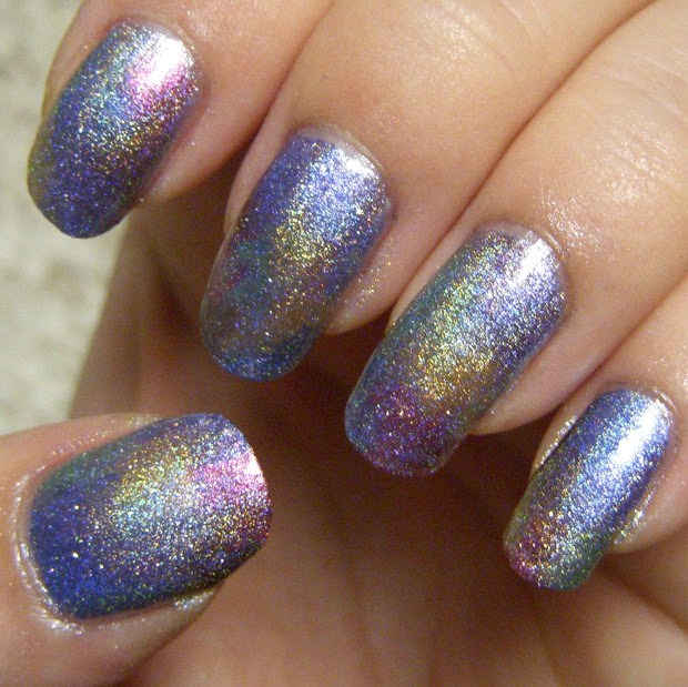 quixii's nails 09 07 12 - rainbow