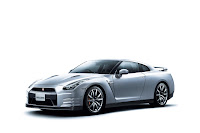 2012 MY Nissan GT-R official press media photo image picture high resolution original source facelift revised new generation enhanced restyled special exclusive edition 530hp Ultimate metal silver brilliant