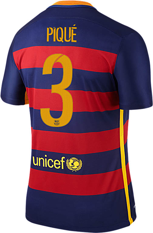 barcelona reveal new typeface for 15 16 kits footy headlines. Black Bedroom Furniture Sets. Home Design Ideas